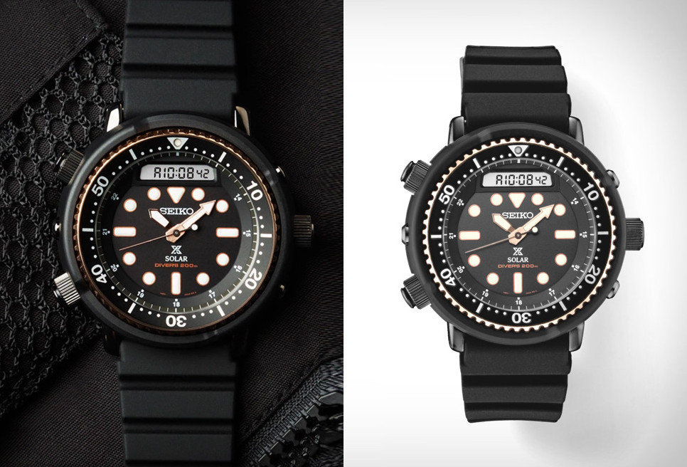 Seiko Prospex Solar Arnie Dive Watch