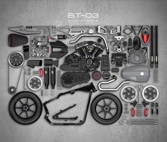 Blacktrack BT-03 Harley-Davidson