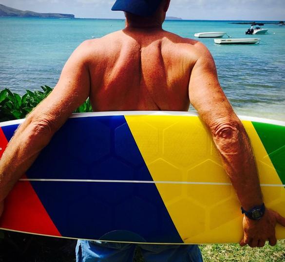 HexaTraction Surfboard Grips