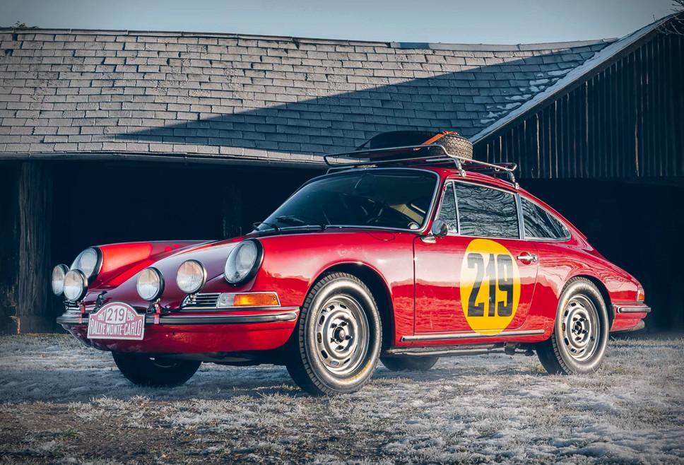 1967 Porsche 911 Monte Carlo Tribute