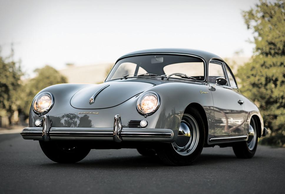 1956 Porsche 356 A European Coupe