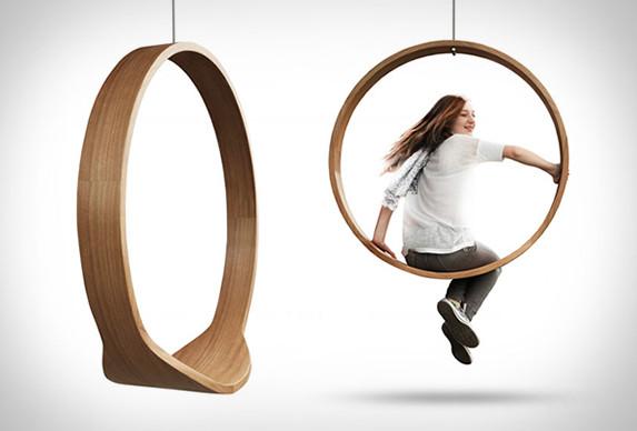 Circle Swing Rocking Chair