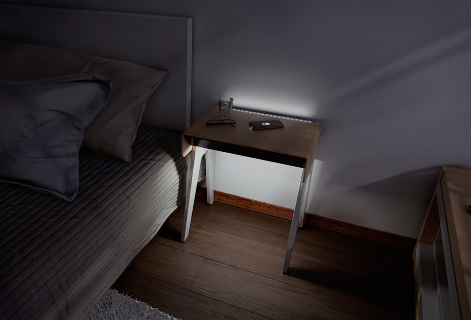 Curvilux Smart Nightstand