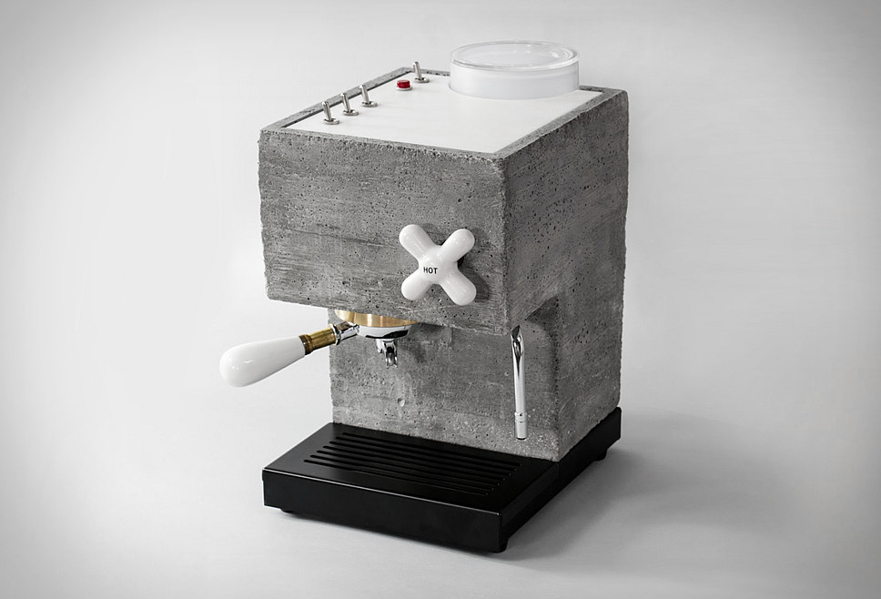 Anza Concrete Espresso Machine