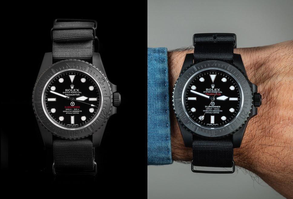 Pro Hunter Rolex Submariner Military Watch