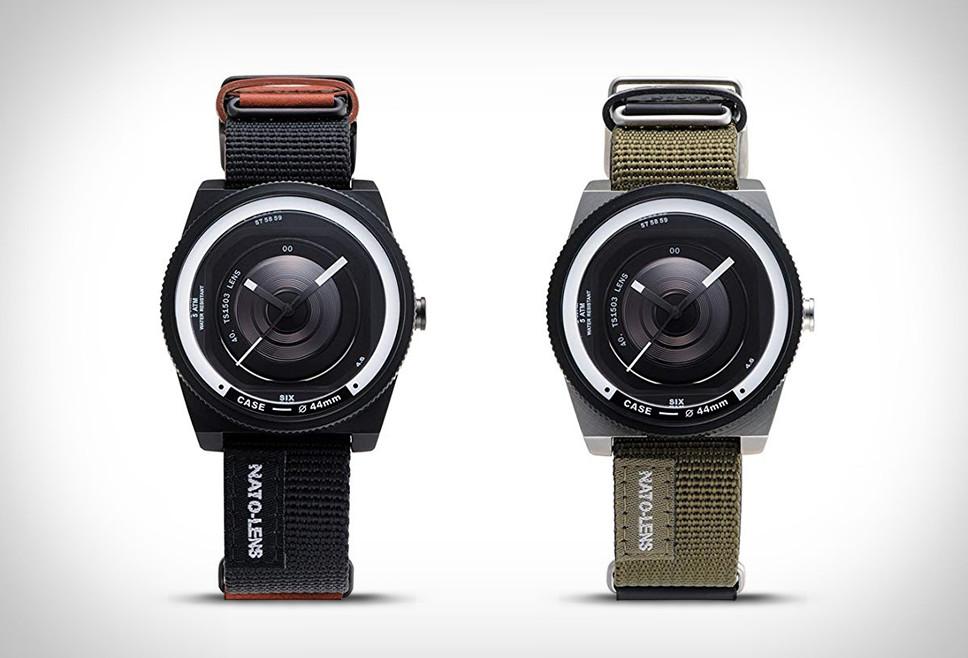 Tacs Nato Lens Watch