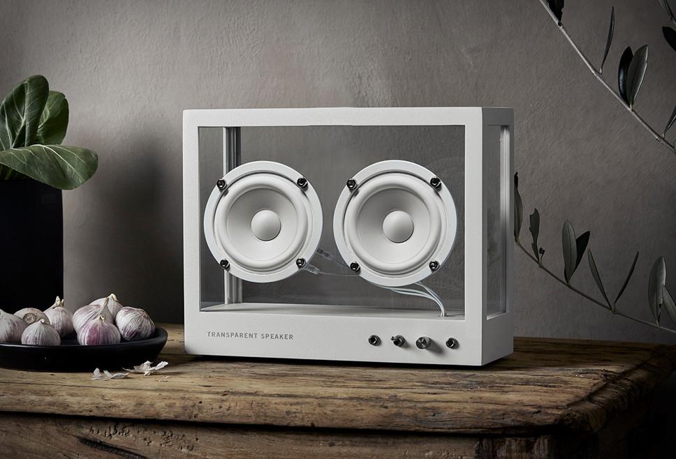 Small Transparent Speaker