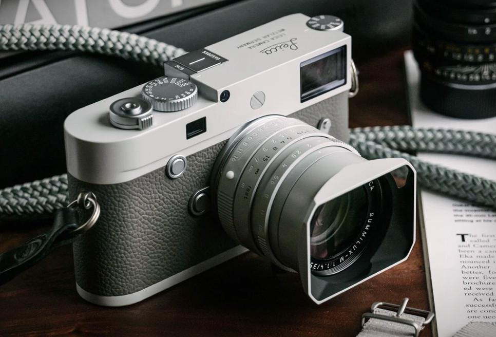 Hodinkee x Leica M10-P Ghost Edition