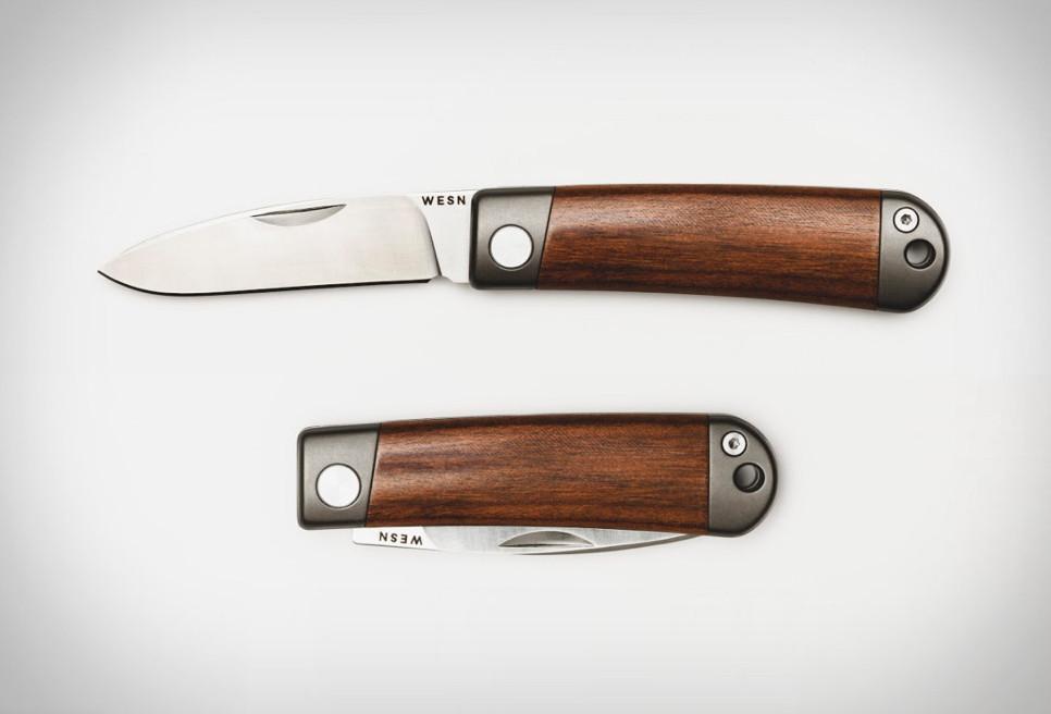 Wesn Henry Titanium Pocket Knife