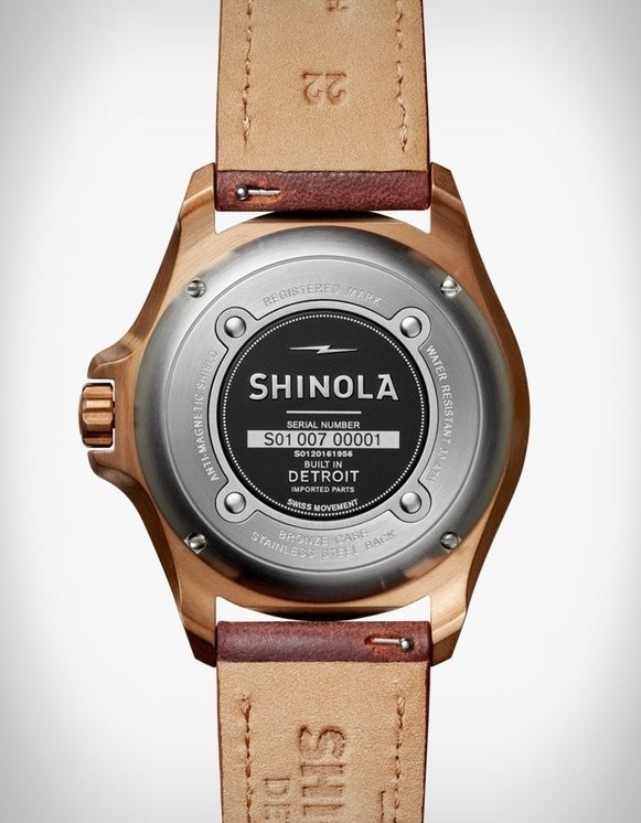 Shinola Bronze Monster