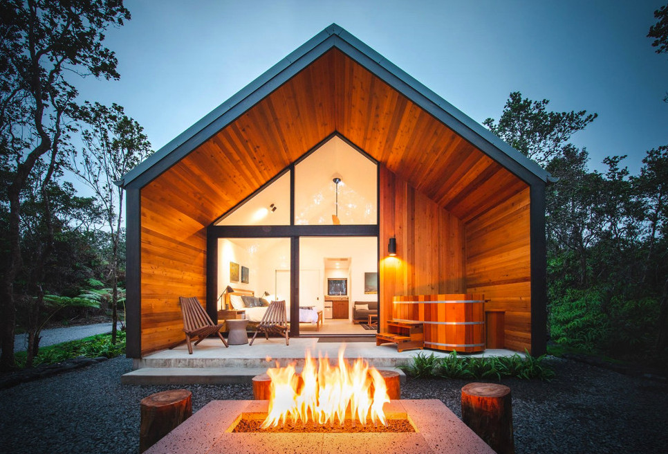 Volcano Cabin