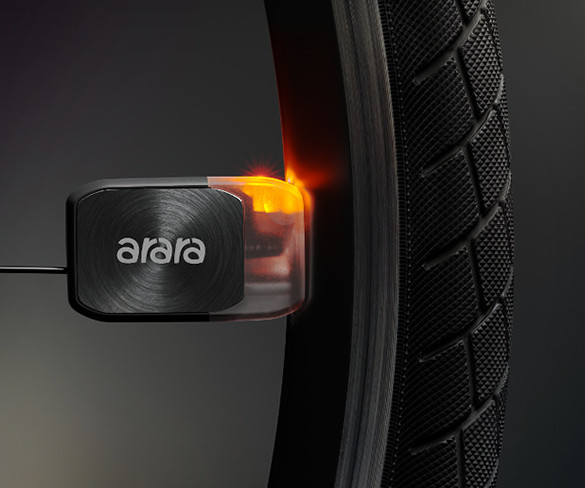 Arara Battery-Free Bike Lights