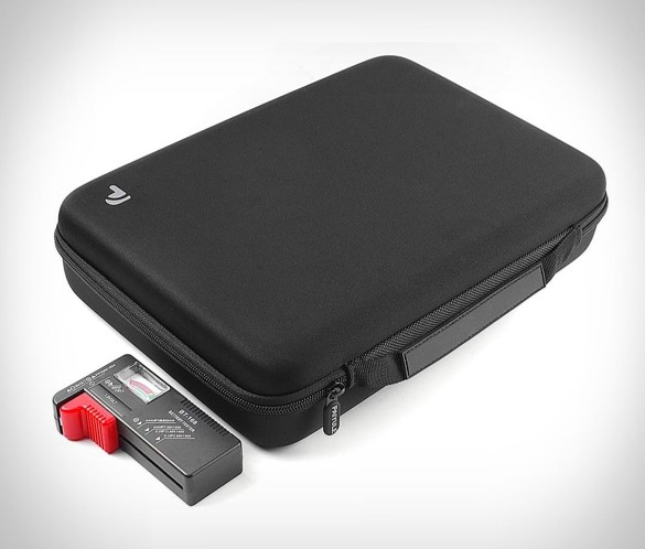 Battery Organizer Storage Case