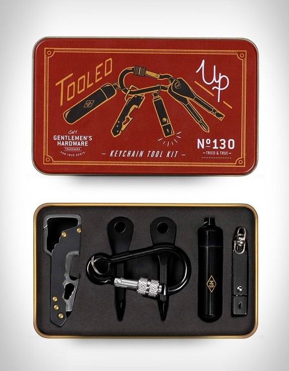 Keychain Tool EDC Kit