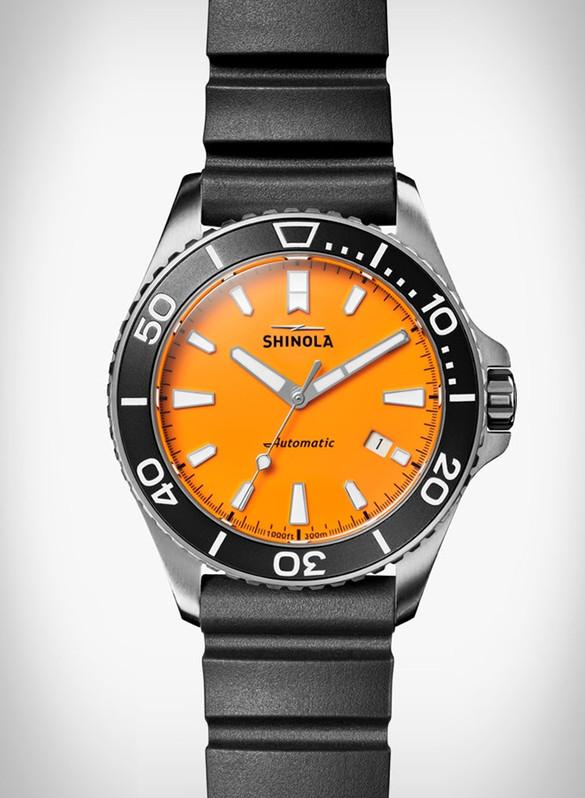 Shinola Monster Dive Watch